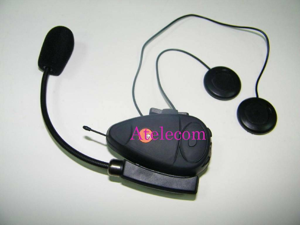100m Two way Talking motorcycle helmet bluetooth intercom headset with fm radio