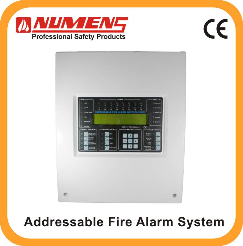Numens 6001-02 2-Loop Addressable Fire Alarm Control Panel