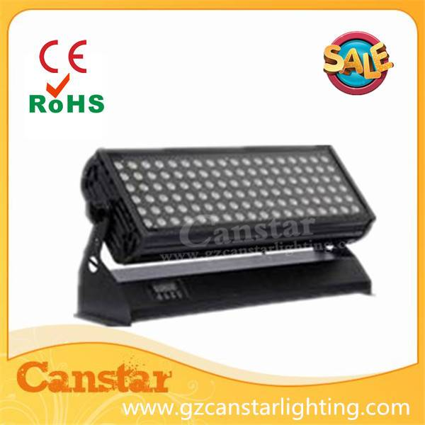 led wall washer light 108x3w RGBW