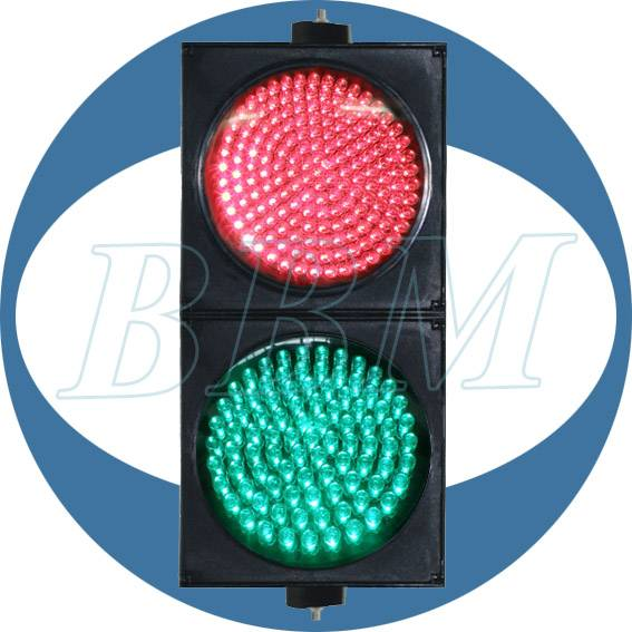 200mm red green 2 color traffic light fresnel lens