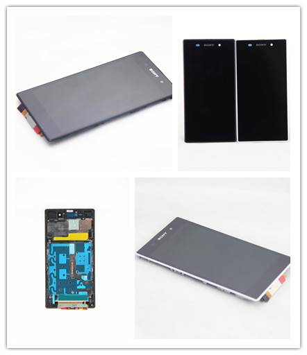 Mobile phone LCD display with Frame for Sony Xperia Z1 (L39H)