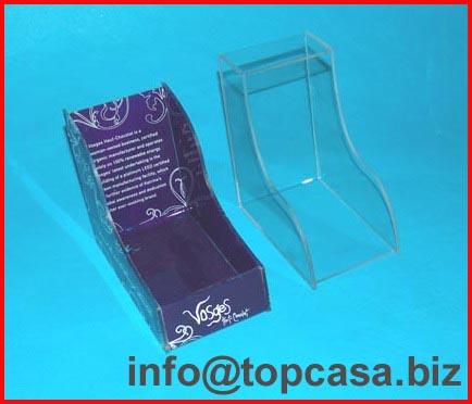 Acrylic (plexiglass) display racks