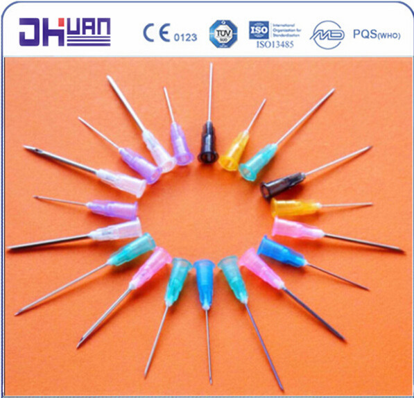 Various size disposable injection needle