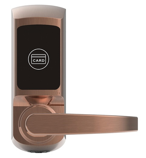 Hot and new design hotel key card door lock system