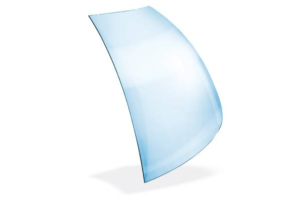 Curved Shield Glass