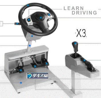 X3 driving simulator