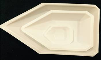 Rhombus Weighing Dishes