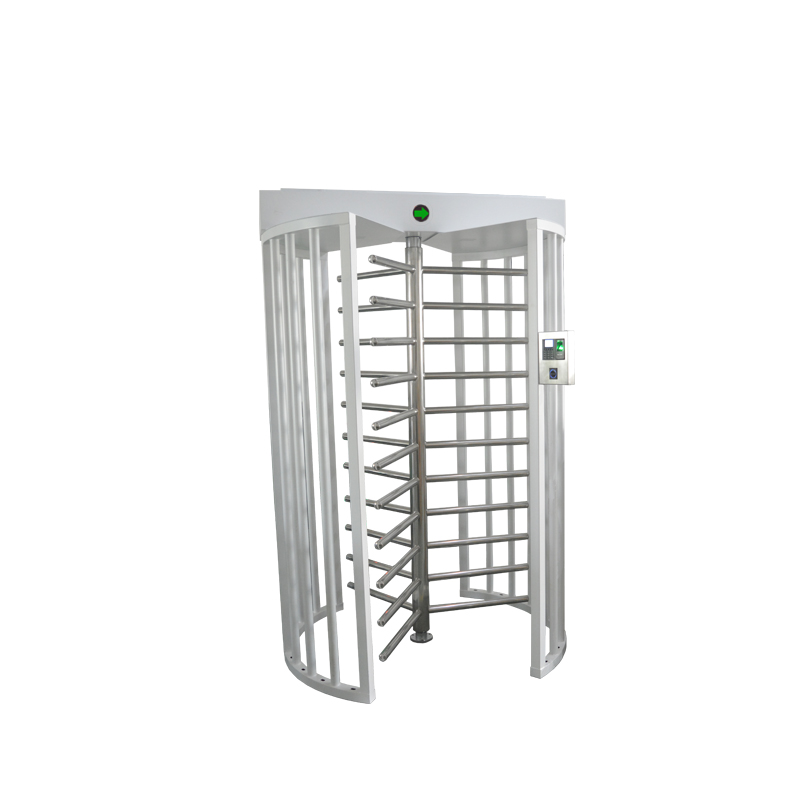 Security turnstile gate single channel access control full height turnstile