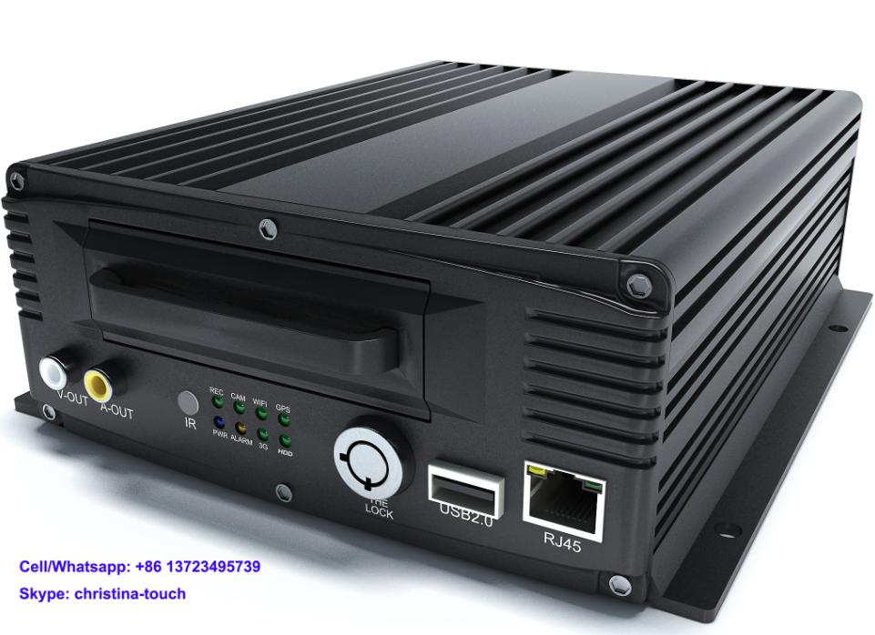 HDD Mobile DVR/MDVR for Fleet Management