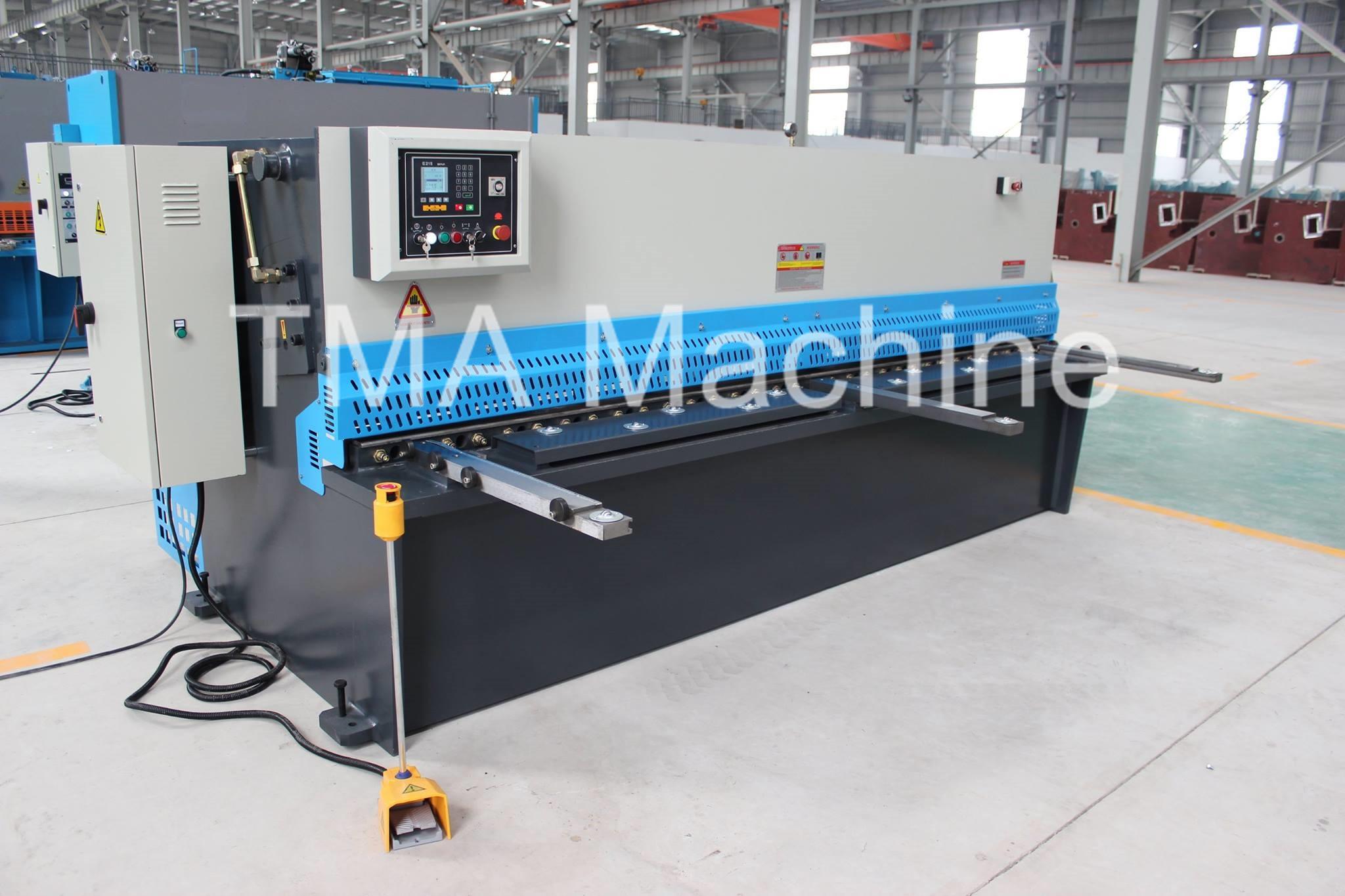NC Controller Hydraulic Cutting Machine QC12Y Series ESTUN E21S,Cutting Machine
