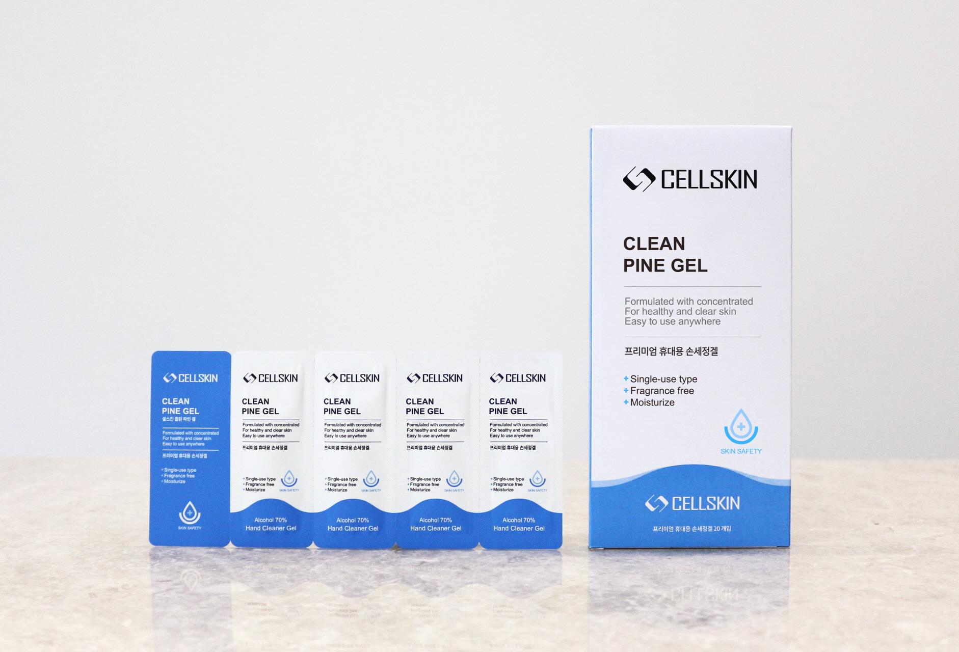CELLSKIN Hand Sanitizer Pine Gel