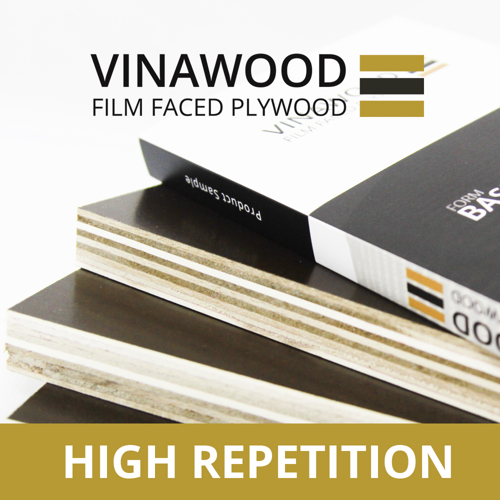 VIETNAM PLYWOOD SUPPLIER FILM FACED PLYWOOD