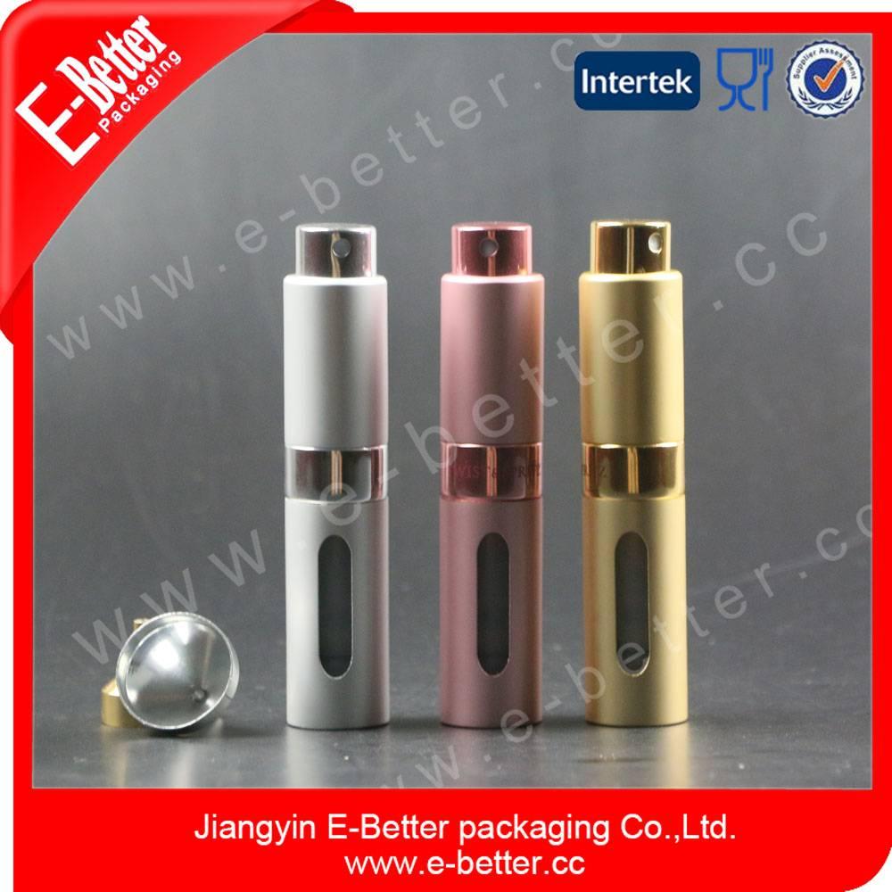 travel size lipstick style empty perfume bottle