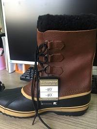 Men Sorel Boots 1964 PAC T Brown Winter Boots