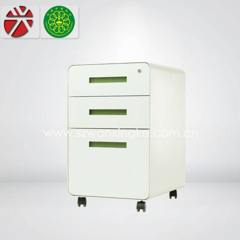 mobile small office metal cabinet
