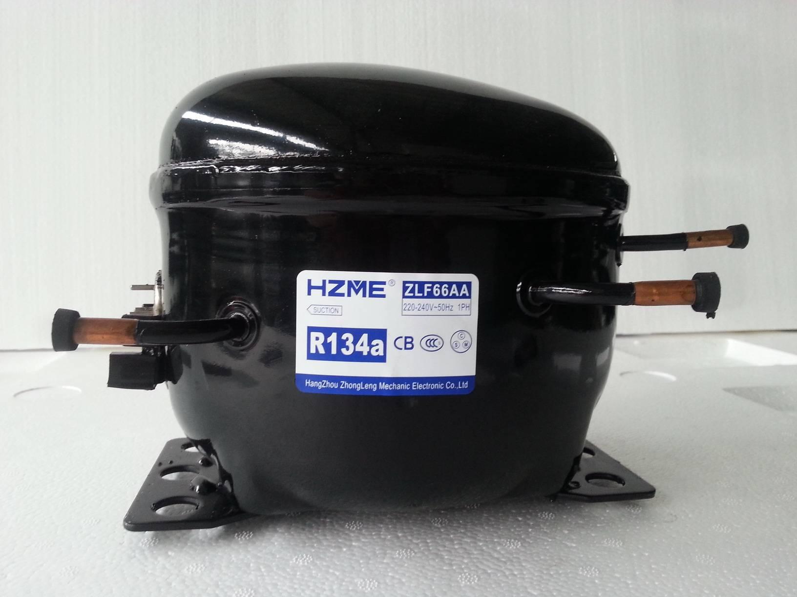 HERMETIC COMPRESSOR R134a  LBP 6.6cc FOR COMMERCIAL REFRIGERATOR