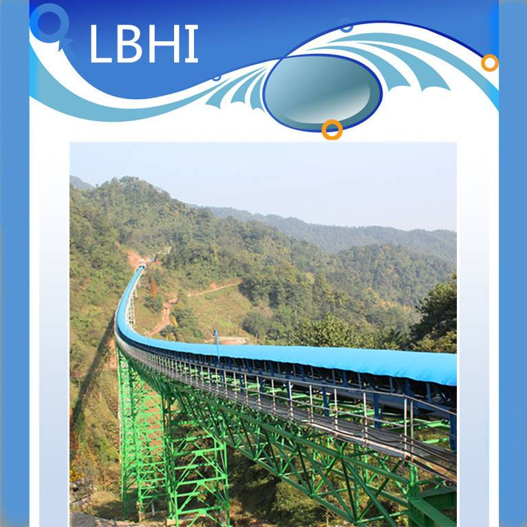 Good Quality Long-Distance Curved Belt Conveyor for Direct Sales