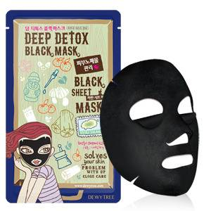 [KOREA COSMETIC] DEWYTREE Deep Detox Black Mask