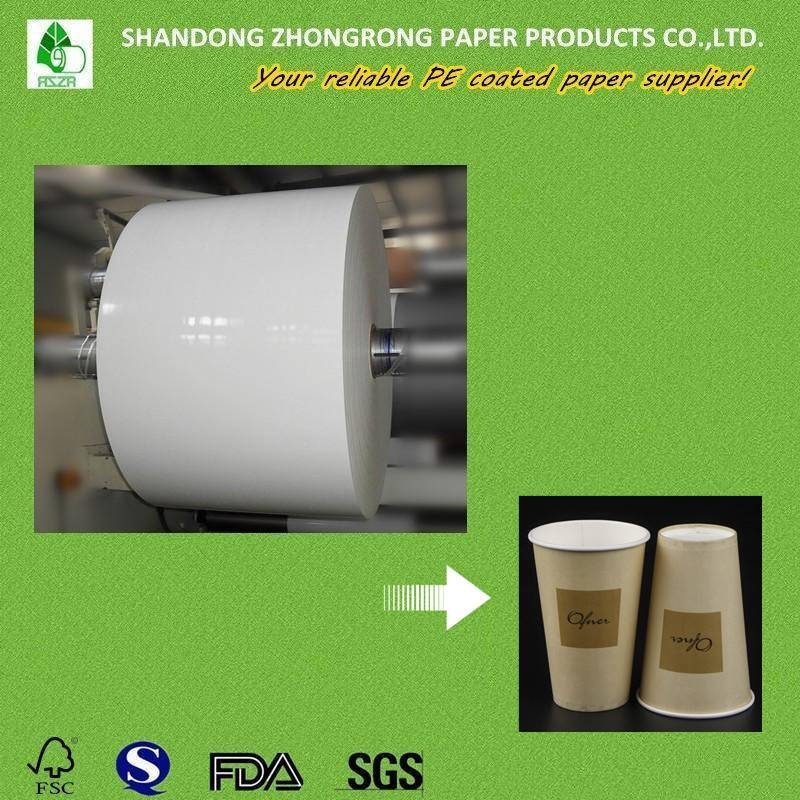 pe coated paper for cups