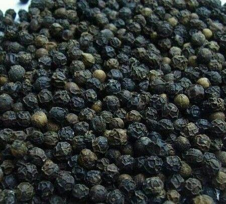 Fresh Black and White Pepper