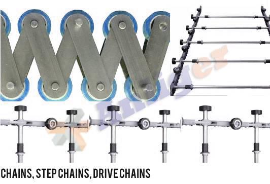 Escalator Step Chain (C001)