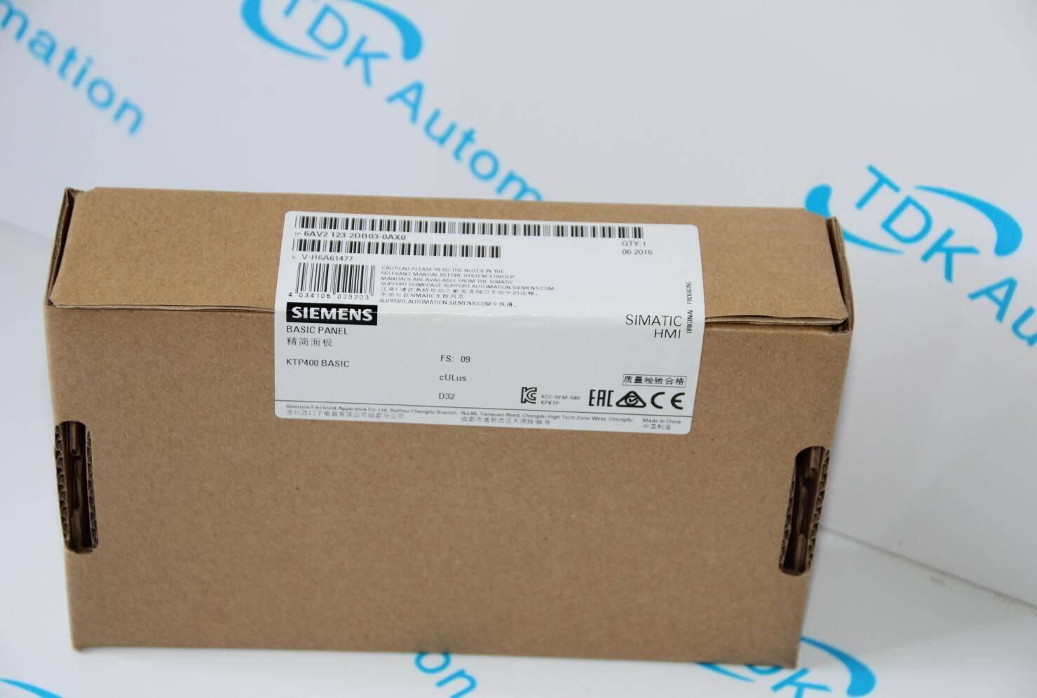 SIMATIC HMI 6AV21232DB030AX0