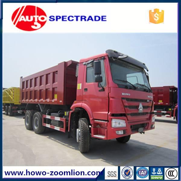 25 ton dump truck Sinotruk Howo 6*6