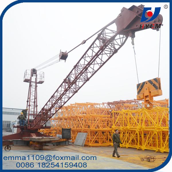 QD60 2420 Derrick Crane 6t Max. Load 24m Jib Top Roof Lifting Materials