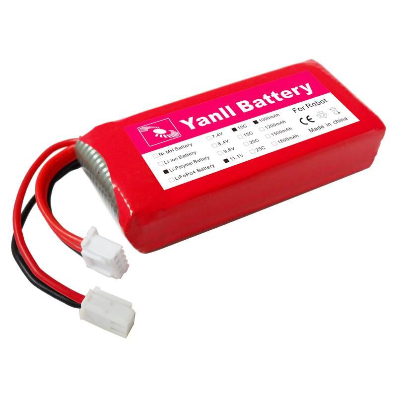 11.1V 1000mAh robot battery