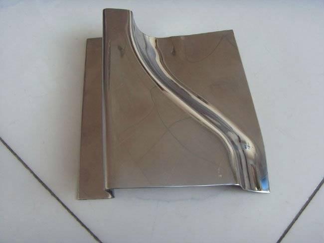 sheet bend metal deep drawn part