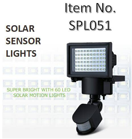 Factory Solar Motion Detection Security Light Export
