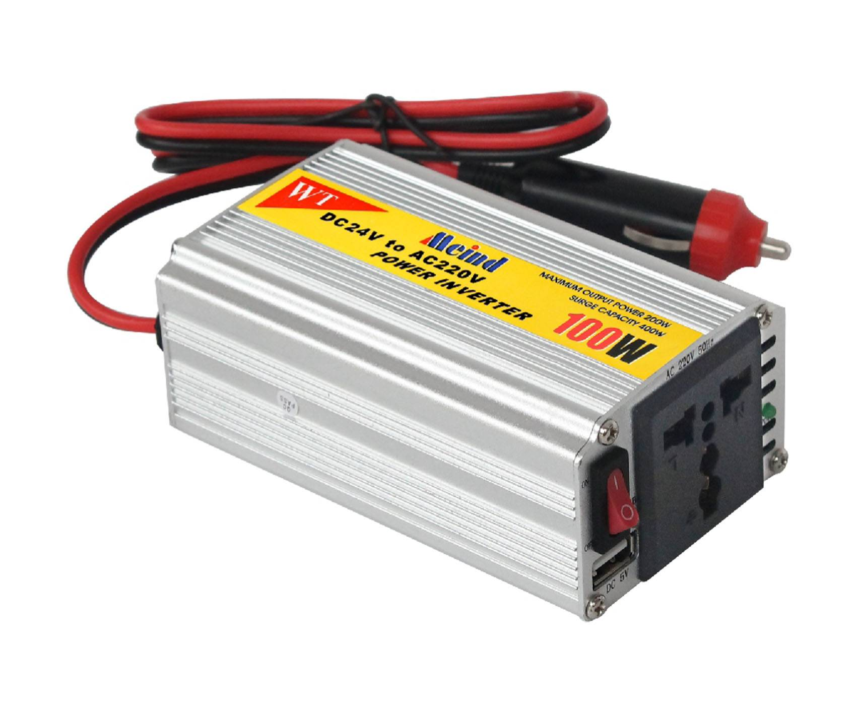DC TO AC  sine wave car power inverter 100w