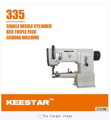 Keestar 335 leather bag sewing machine