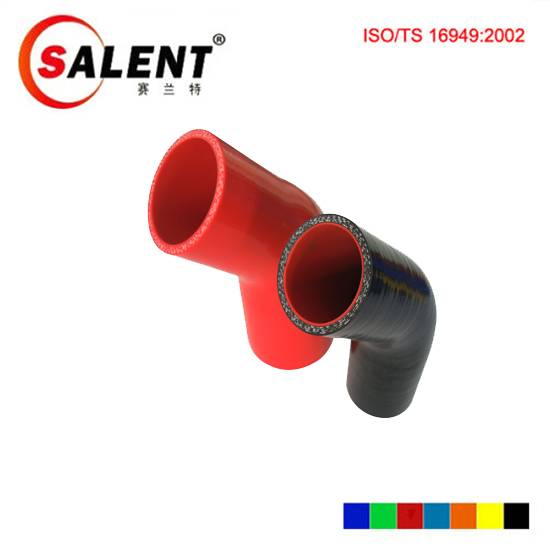 ID8mm Standard 45 90 135 180 degree Silicone Elbow coupler hose standard silicone elbow fittings pip