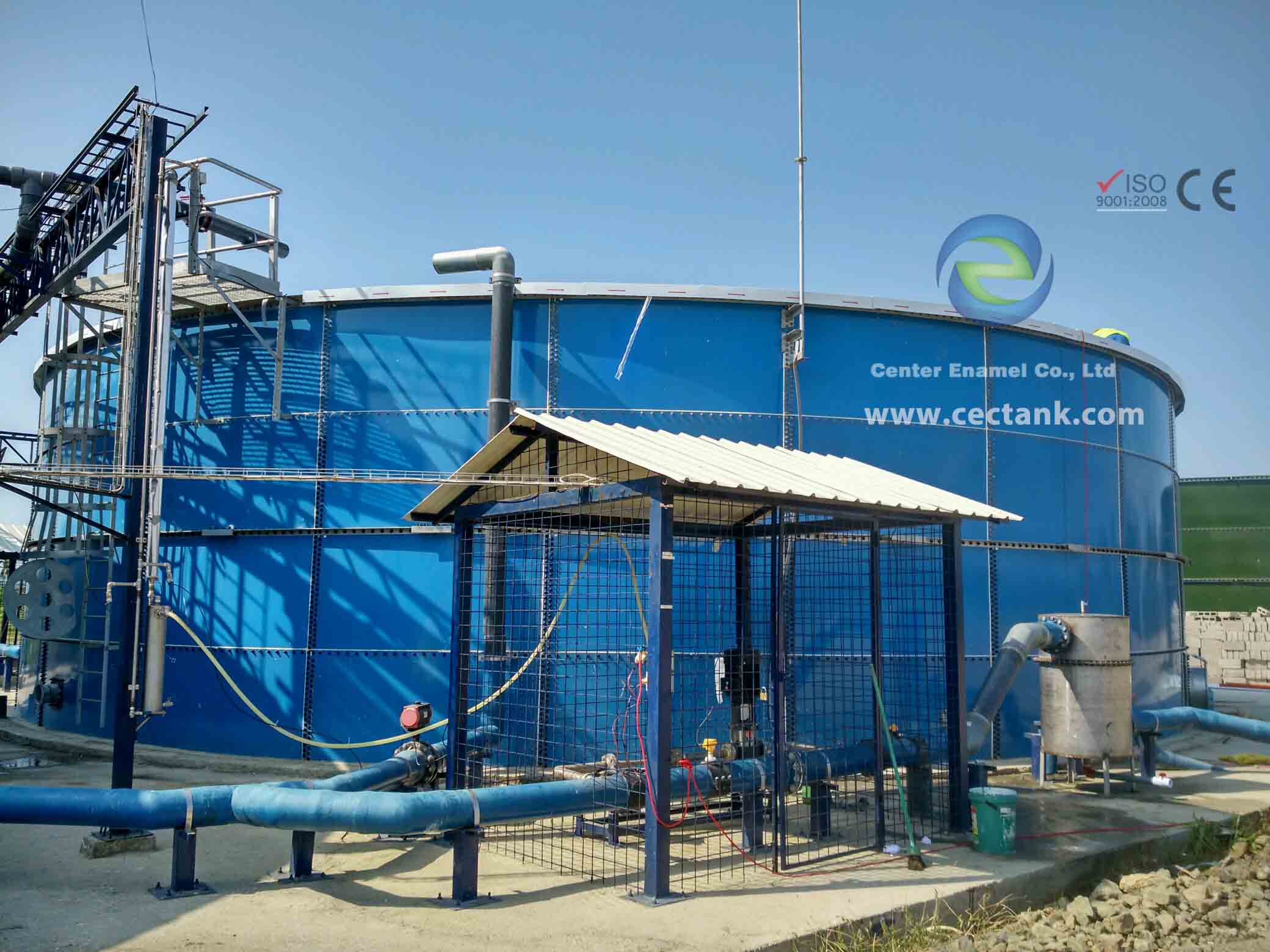 High Corrosion Resistant Sludge Storage Tank For WasteWater Treatment Engineering