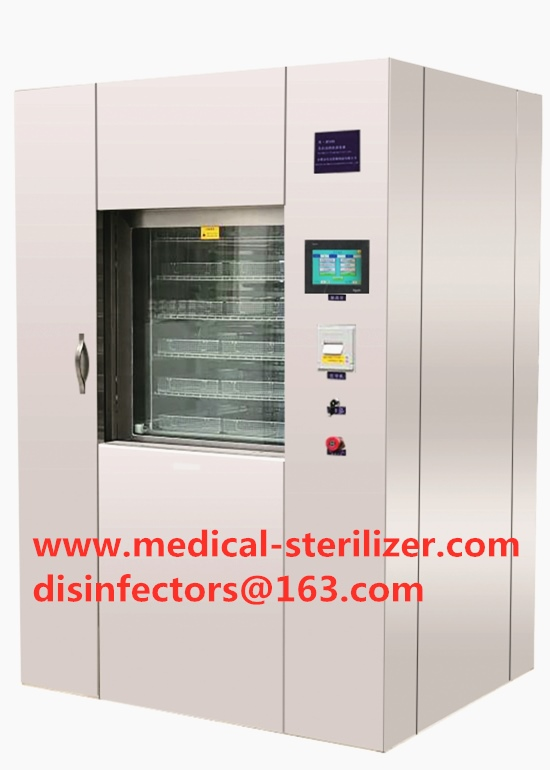 Spray System Hospital medical surgical instruments washing disinfection machine With PLC