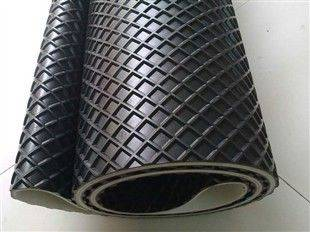 PVC black conveyor belt