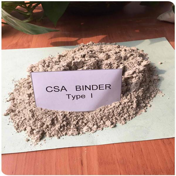 Concrete cement additives Hcsa binder 92.5