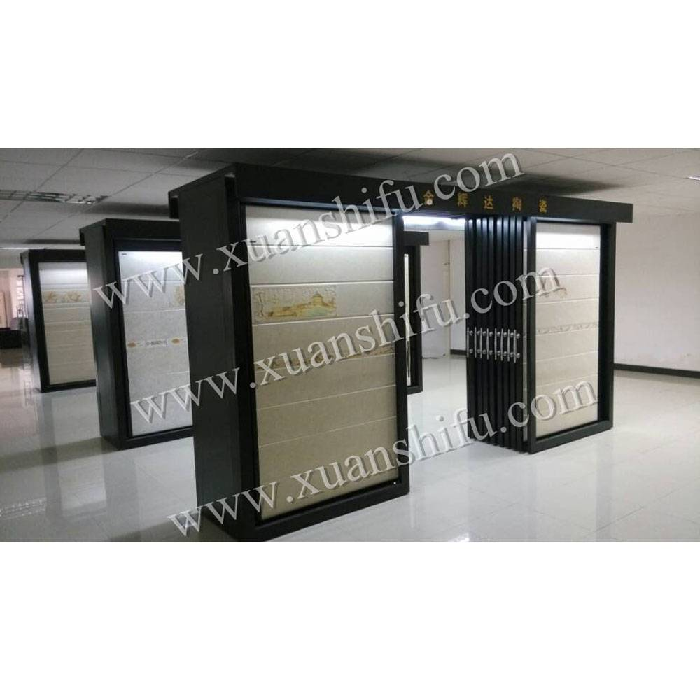 new design ceramic cabinet / tiles display / stone frame