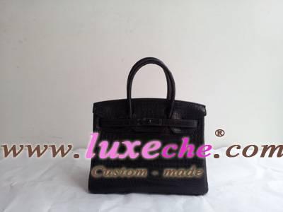 Sell crocodile soblack hermes luxeche birkin ,kelly handbag,100% handstitching and others,original l