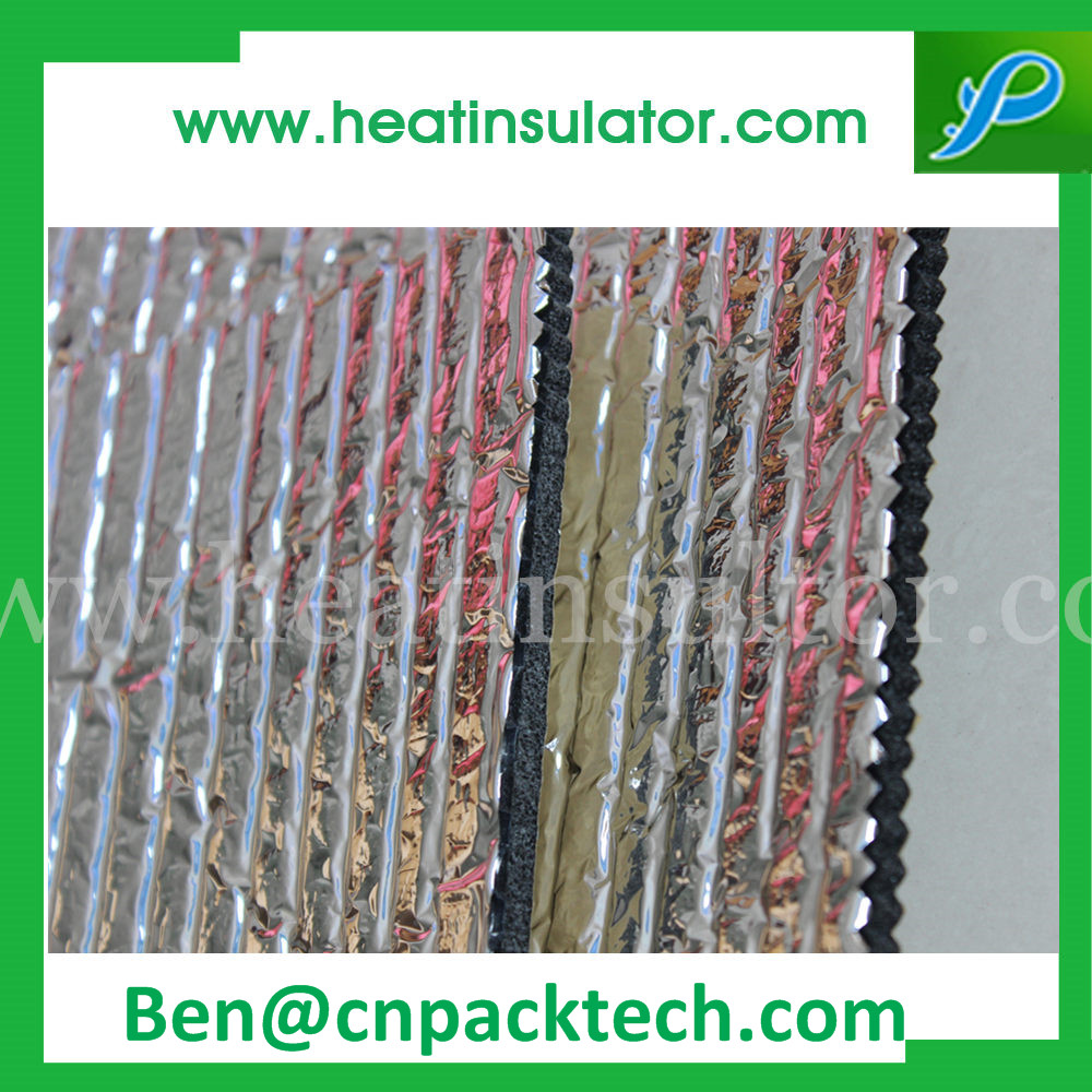 Thermal Break Blue Foam Foil Insulation Material For Wall Insulation