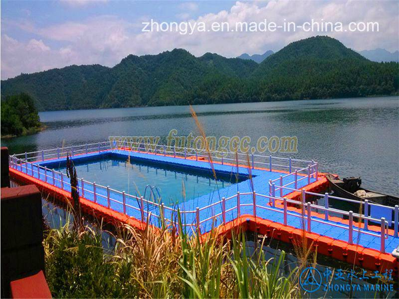 Floating Cube Pontoon Swimming Pool