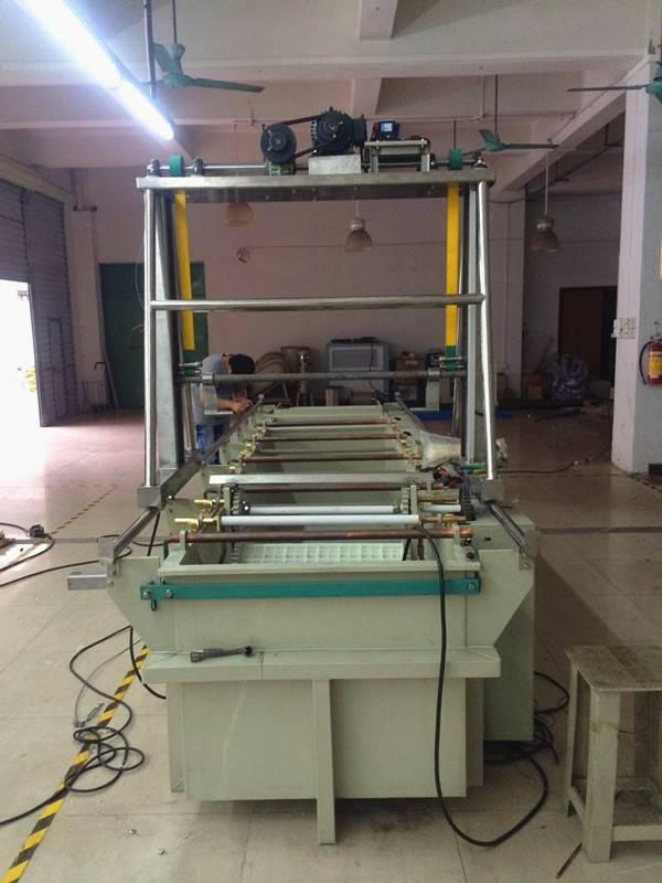 Semi-automatic Bolts Barrel Plating Production Line Zinc Plating Machine Copper Plating