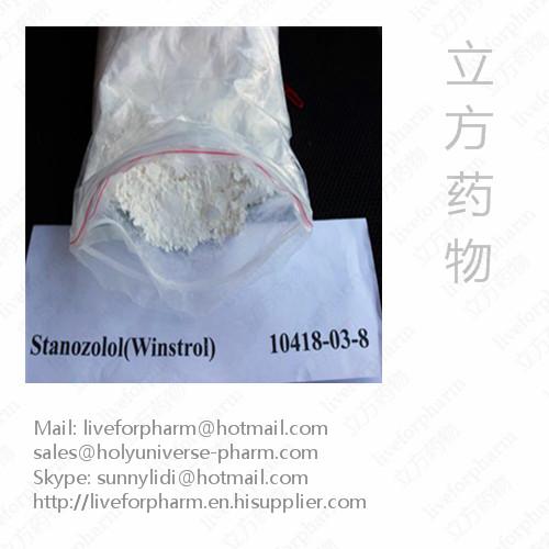 99%Quality Stanozolol / Winstrol / CAS 10418-03-8