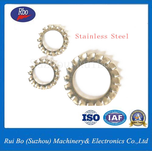 Fastener DIN6798A External Serrated Lock washers with ISO