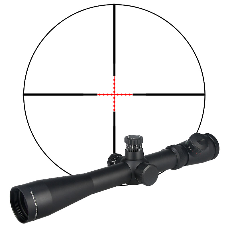 Canis Latrans M1 3.5-1040E side focus rifle scope CL1-0038