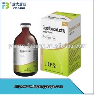 Highly active Ciprofloxacin Lactate Injection