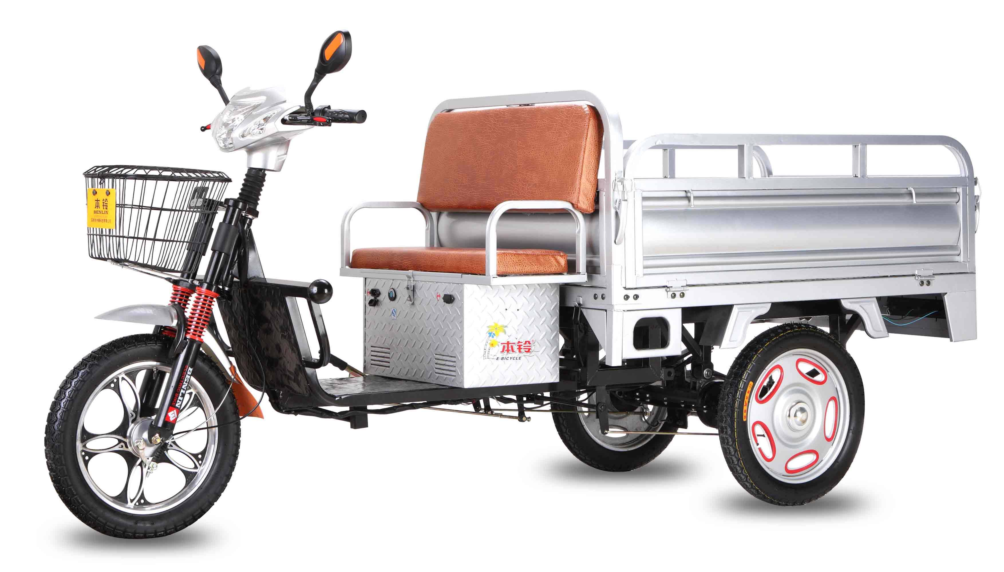 48V500W new electric tricycle three-wheeler scooter South Asia style
