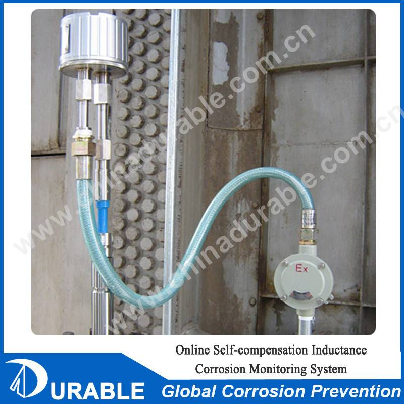Online Self-compensation Inductance Corrosion Monitoring System