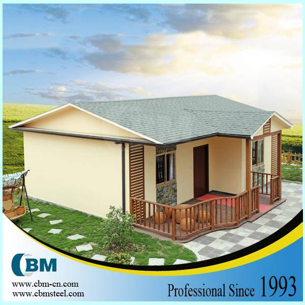 China Prefabricated light steel villa